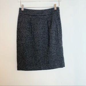 Ann Taylor wool skirt // women